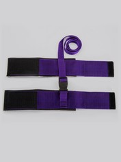 Purple Reins Wrist or Ankle Cuffs, Purple, hi-res