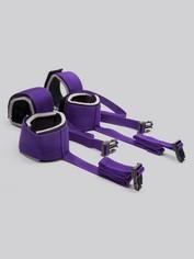 Purple Reins Under Mattress Spreader Restraint, Purple, hi-res