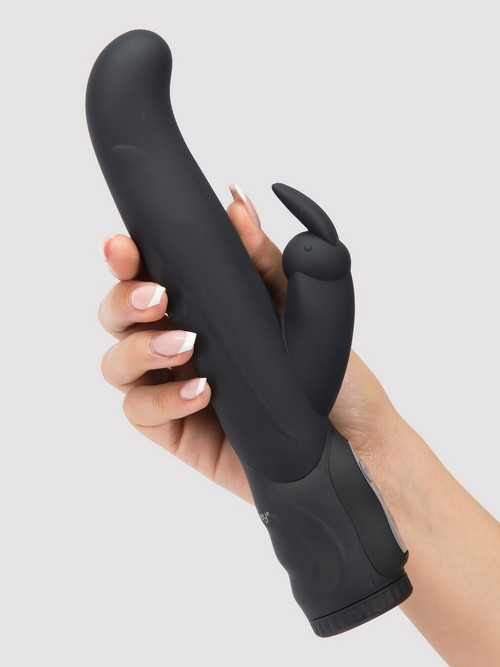 Vibromasseur rabbit point G silicone 10 fonctions Power Play, Lovehoney