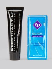 ElectraStim Bi-Polar Electrosex Jack Socket Stroker, Black, hi-res