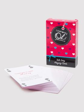 Lovehoney Oh! Talk Dirty Playing Cards