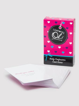 Lovehoney Oh! Kinky Confessions Truth or Dare Card Game (52 Pack)