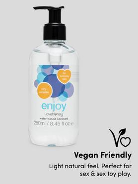 Lubricante a Base de Agua Enjoy 250ml Lovehoney