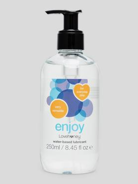 Lubrifiant intime à base d'eau Enjoy 250 ml, Lovehoney