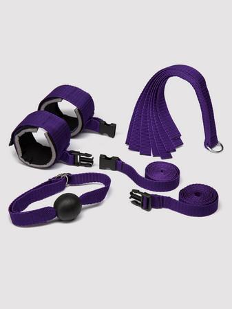 Purple Reins Beginners Bondage Kit (4 Piece)