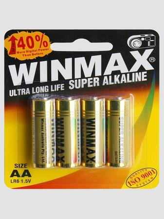 WINMAX AA Super Alkaline Batteries (4 Pack)
