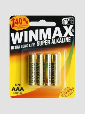 WINMAX AAA Super Alkaline Batteries (4 Pack)
