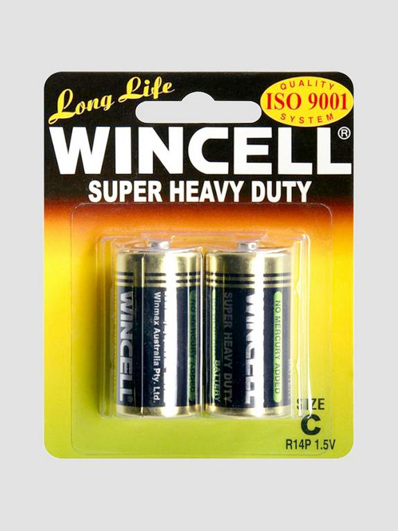 WINCELL C Super Heavy Duty Batteries (2 Pack), , hi-res