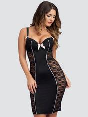 Lovehoney Seduce Me Push-Up Dress, Black, hi-res