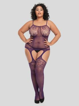 Lovehoney Up All Night Lace Bodystocking