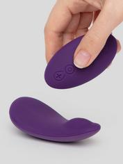 Desire Luxury Rechargeable Remote Control Panty Vibrator, Purple, hi-res