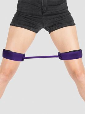 Purple Reins 12 Inch Thigh Spreader Bar