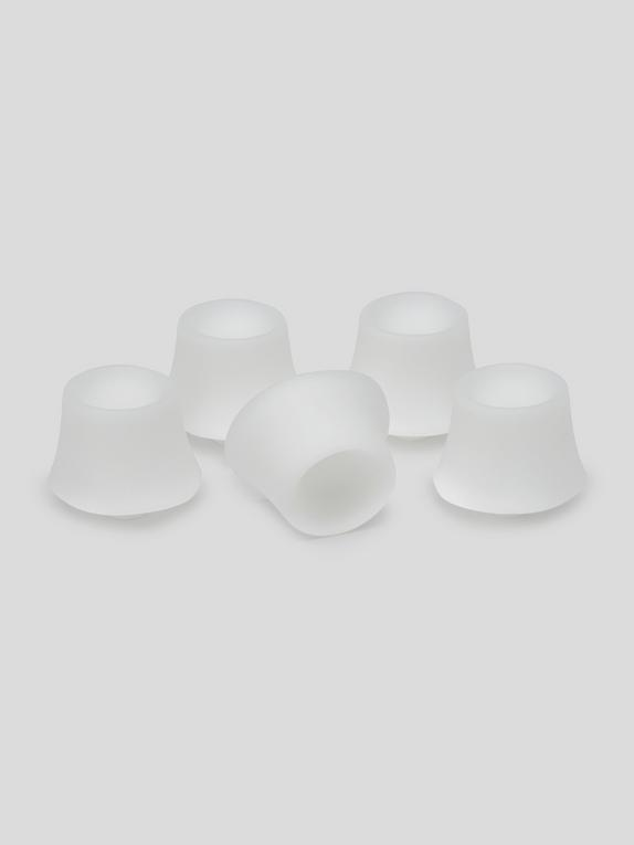 Womanizer Vibrator XL Replacement Heads (5 Pack), White, hi-res