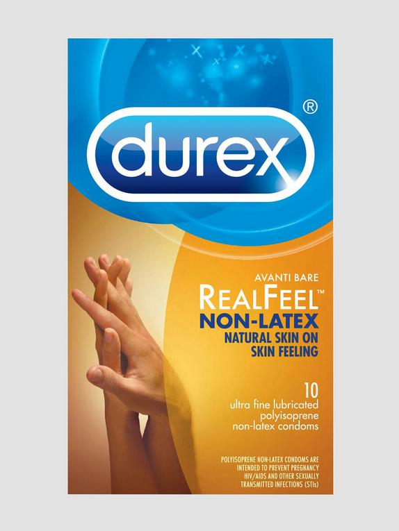 Durex Avanti Bare Real Feel Non Latex Condoms (10 Count), , hi-res