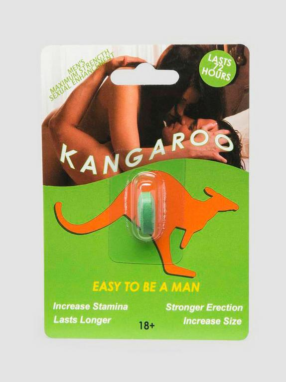 Kangaroo Max Strength Sexual Enhancement for Men (1 Pill) LHUS LHCA, , hi-res