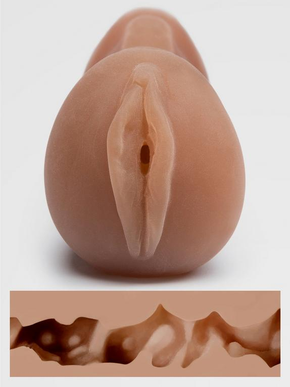 THRUST Pro Mini Mona Realistic Pocket Pussy 240g, Flesh Brown, hi-res