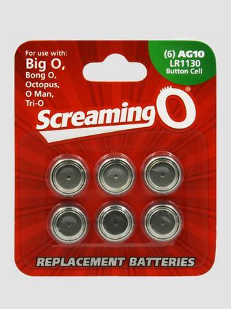 Screaming O LR54 Batteries (6 Pack)