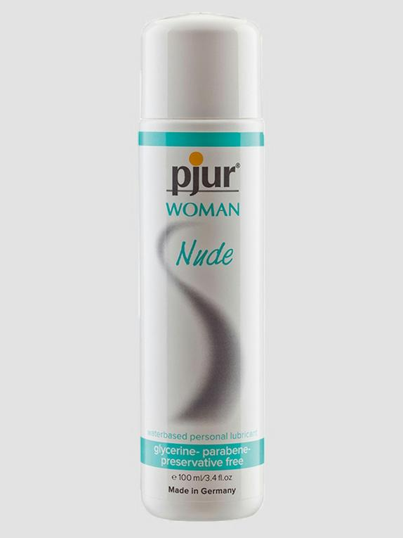 pjur Woman Nude Sensitive Water-Based Lubricant 3.4 fl oz, , hi-res
