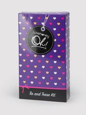 Lovehoney Oh! Get Started Tie & Tease Kit (4 Piece), Black, hi-res