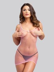 Lovehoney Fishnet Mini Dress, , hi-res