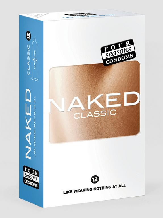 Four Seasons Naked Classic Condoms (12 Pack), , hi-res