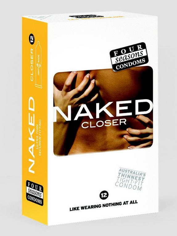 Four Seasons Naked Closer Condoms (12 Pack), , hi-res