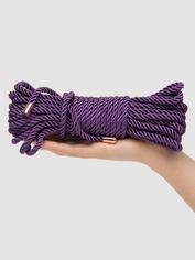 Fifty Shades Freed Want to Play? 10m Silky Rope, Purple, hi-res