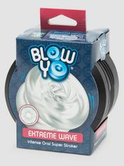 BlowYo Extreme Wave Textured Blowjob Stroker, Clear, hi-res