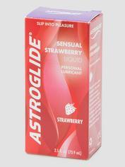 Astroglide Strawberry Flavored Lubricant 2.5 fl oz, , hi-res