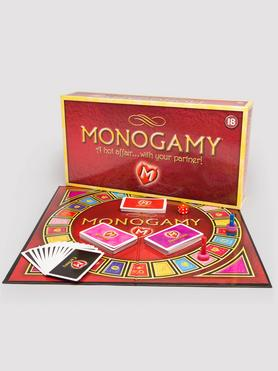 Monogamy Game: A Hot Affair for Couples Adult Board Game