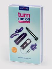 Lovehoney Turn Me On Clitoral Vibrator Kit (6 Piece), Purple, hi-res