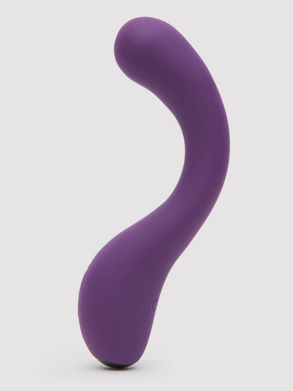 Desire Luxury Rechargeable Curved G-Spot Vibrator, Purple, hi-res