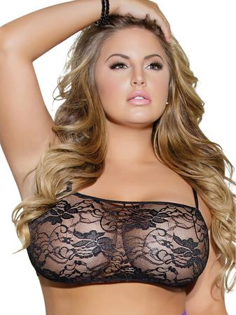 Coquette Plus Size Stretch Lace Bralette