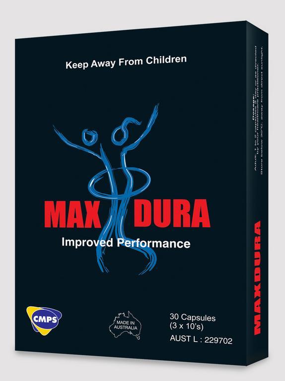 MaxDura Performance Enhancer Pills (30 Capsules), , hi-res