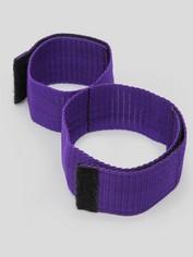 Purple Reins Double Leg and Arm Restraint Set, Purple, hi-res