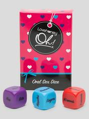 Lovehoney Oh! Oral Sex Dice (3 Pack), , hi-res