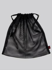 Lovehoney Black Mesh Drawstring Gift Bag, , hi-res
