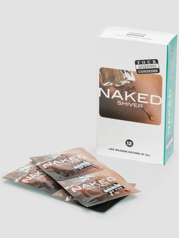 Four Seasons Naked Shiver Menthol Condoms (12 Pack), , hi-res