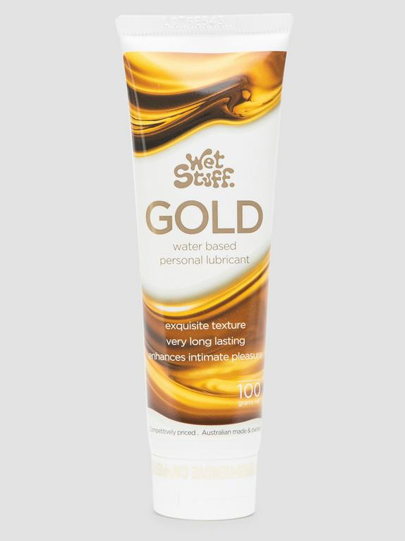 Wet Stuff Gold Water-Based Lubricant 100ml, , hi-res