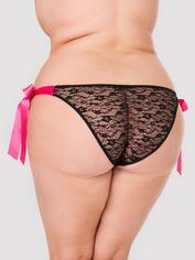 Culotte vibrante télécommandée 10 fonctions grande taille Hot Date, Lovehoney, Noir, hi-res