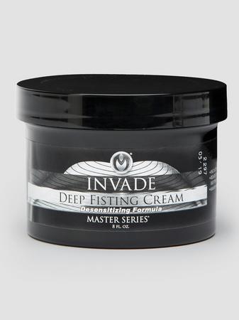 Master Series Desensitizing Invade Deep Fisting Cream 8 fl oz