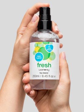 Limpiador para Juguetes Eróticos Fresh 250ml Lovehoney