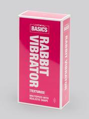 BASICS Textured Rabbit Vibrator, Pink, hi-res