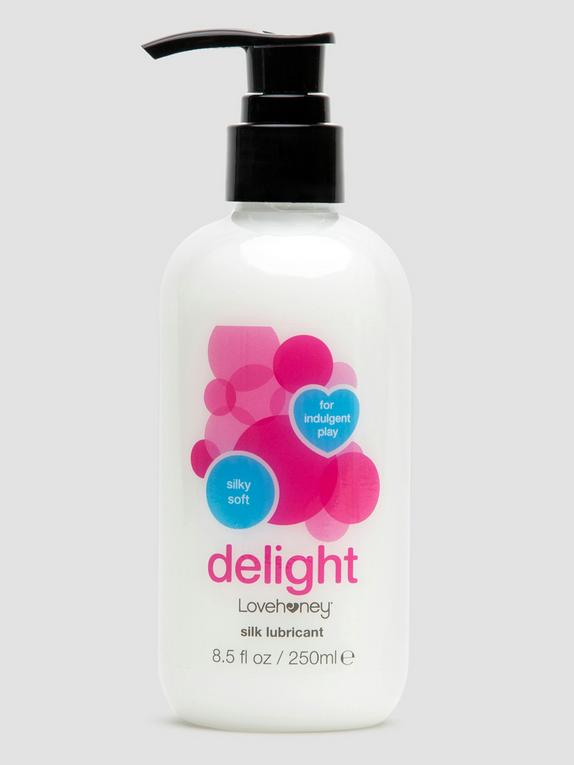 Lovehoney Delight Silk Lubricant 8.5 fl oz, , hi-res