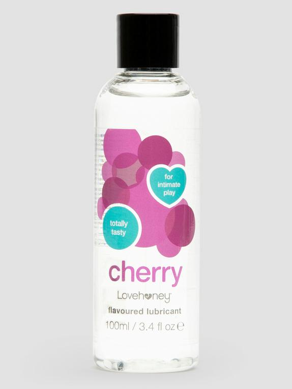 Lovehoney Cherry Flavoured Lubricant 100ml, , hi-res