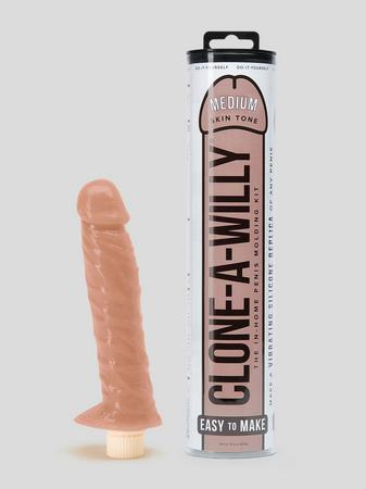 Clone-A-Willy Vibrator Molding Kit Medium Skin Tone