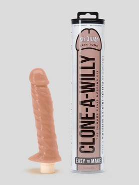 Clone-A-Willy Vibrator Moulding Kit Medium Skin Tone