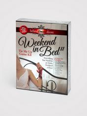 Tie Me Up Weekend in Bed Bondage Sex Game, Red, hi-res