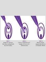 Zumio X Rechargeable Deep Stimulation SpiroTIP Clitoral Stimulator, Purple, hi-res