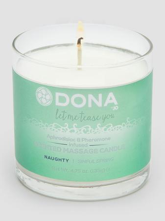 DONA Naughty Sinful Spring Pheromone Massage Candle (135g)